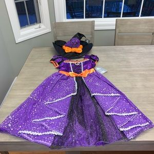 Minnie Mouse Girls Witch Costume